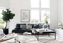 Interiors - Scandinavian & Minimalist Ideas / #minimalist