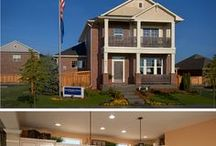 Interiors - Completed & Furnished Houses & Model Home Ideas / #house models