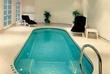 Interiors - Indoor Pools & Spa Ideas / #pools