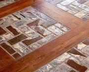 Interiors - Flooring (Wood & Stone) Ideas