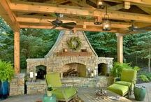 Outdoors - Fireplaces & BBQ Ideas