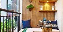 Outdoors - Balcony & Loggia Ideas / #balcony