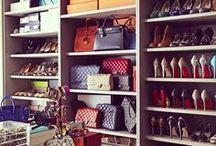 Interiors - Wardrobe & Walk-In-Closet Ideas / #walkincloset