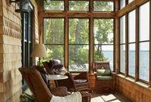 Interiors - Sunroom Ideas / #sunroom