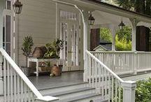 Outdoors - Porch & Patio Ideas / #porch #patio