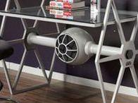 Interiors - Star Wars Themed Ideas / #starwars #interiors