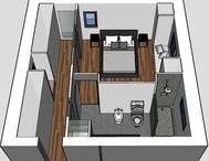 Interiors - Blueprints & Floorplans Ideas / #blueprints #floorplans