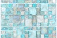 Interiors - Wall Tiles & Mosaic Ideas / #mosaic #walltiles