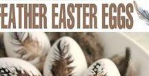 Interiors - Decor: Easter & Spring / #easter #spring #decor #springdecor