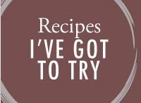 "Recipes I've Got To Try / Recipes from other bloggers that are on my ""to try"" list. Once they're tested and husband-approved, I'll switch them over to my ""tried and true"" recipe board!"