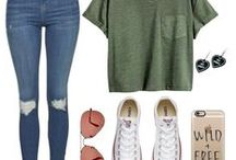 Szettek/Outfits / Szeretném megmutatni nektek hogy mi is igazából a divat a tinédzserek körében!