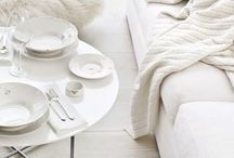 I love love love white / Everything white, at the moment my favorite color