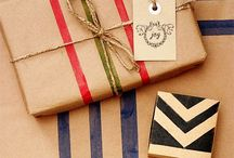 Gift Wrap Inspiration / by Live Laugh Rowe