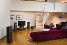 Intégrations pour la Maison / Enceintes, amplis, systèmes Home Cinéma, découvrez des installations et des intégrations en intérieur qui ne peuvent que vous inspirer.