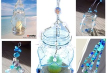 What to Do with an Empty Glass Jar / by Kim at eCrafty.com
