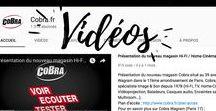 Les Vidéos Cobra / Retrouvez les vidéos disponibles sur notre chaîne YouTube mais pas que. Des tests, des présentations de produits et un peu d'insolite