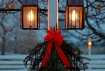 Christmas outside....