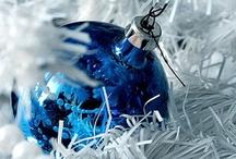 Christmas Blue, White & Silver...
