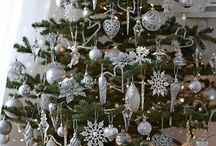 Christmas White & Silver