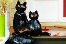 Halloween, Fall and Autumn Crafts