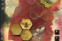 The Bee Hive / How doth the little busy #bee Improve each shining hour, And gather honey all the day From every shining flower!   How skilfully she builds her cell! How neat she spreads the wax! And labours hard to store it well With the sweet food she makes. Excerpt from a poem by Isaac Watts,