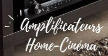 Amplificateurs Home-Cinéma / L'Amplificateur Home Cinema permet d'amplifier votre pack d'enceintes 2.1 ou 5.1, pour restituer un son multicanal depuis votre platine Blu-ray, DVD, ou écran de TV.