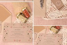 For the Guests / A great assortment of different styles and types of Invitations!