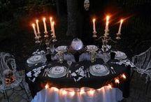Setting the table, Halloween