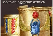 Learning: Ancient Egypt / Homeschooling unit inspiration on Ancient Egypt including great books and activities