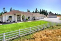 Equestrian/Ranches/Farms with Home For Sale in Yelm / Equestrian, Ranch or Farm properties for sale in Yelm Washington