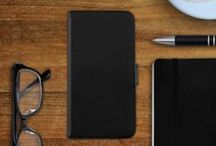 James series / Genuine leather wallet cases for smartphones. Our James series targets the smart gentleman or woman who favors elegant and minimal design. Thick leather protects the mobile phone, compartments provide space for business or credit cards. Available in cognac brown, black and red leather, for iPhone SE/ 5/ 5S iPhone 6/ 6S, Huawei P8, Samsung Galaxy S7, S6 and Samsung Galaxy S5/ S5 Neo, Sony Xperia Z5 and Samsung Galaxy A5 (2015)