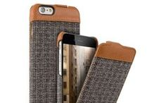 """Emma series / Our flip style case """"Emma"""" is designed for the material lover. Featuring genuine leather applications and a selected fabric, this case is stylish and protective. Other fabrics coming soon. Availble for iPhone 6/6S, iPhone SE/ 5 / 5S, Samsung Galaxy S5/S5 Neo and S7, Samsung Galaxy A3 (2016), A5 (2015) and A5 (2016), Sony Xperia Z5 and /5 Compact, Huawei P8 Lite and OnePlus 2. Coming soon for Huawei P9, P9 Lite and Samsung Galaxy J5"""