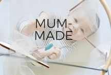 Mum-Made Keepsakes / Mum-Made is the first easy-to-make, personalised craft box designed exclusively for mothers. Each box contains hand-picked, high quality materials and simple instructions.
