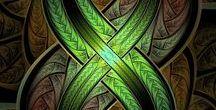 """Fractals & Mandala Art """"complete mind control""""  (SS)"""