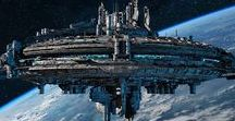 Space Ships & Stations (sci-fi)