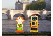 Mini ville, Mini vie / Story box et mini story, personnages et figurines de Janod en pleine ville ...