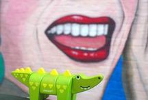 Crocodile des villes / Animal Kit Crocodile de Janod dans tous ses états.