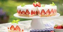 Erdbeerzeit | Erdbeer Kuchen | Erdbeer Torten / Sommer, Sonne, Erdbeerzeit – Zeit für Erdbeerkuchen und Erdbeertorten.