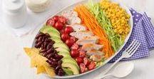 Knackfrisch | Salat Rezepte / Da haben wir den Salat! Und einen besonders köstlichen noch dazu. Knackig frisch und mit cremigem Dressing – bei diesen Rezepten findet jeder seinen Lieblingssalat.