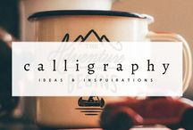 Calligraphy Inspiration / Collection of beautiful and inspiring Calligraphy.