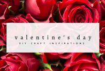 Valentine's Day Ideas / Collection of Valentine's Day DIY craft idea & inspirations. Valentine's day gift ideas, craft ideas, giveaway ideas and more!