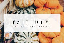 Fall Ideas / Thanksgiving and Halloween DIY craft & decoration & paty ideas, inspirations. Anything inspires to feel fall!