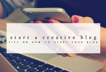 How to Start a Creative Blog / Tips, hacks and tutorials on how to start your blog, especially for people who want to be craft influencer. How to start your own creative, craft and DIY blog and monetize your blog successfully