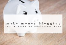 Monetizing Your Blog / How to make money as a blogger. Learn how to successfully monetize your blog and earn passive income, by writing what you love whenever and where ever. Make Money by blogging and learn about affiliate system, display ads, promoted articles.. and more options to how to make many as a blogger!