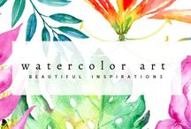 Watercolor Art / Collection of excellent and stunning watercolor illustrations and creations.