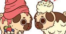 pugs / pugs fofos D+