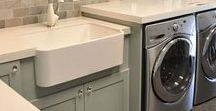 Laundry Room / Ideas for decorating your laundry room. Get ideas for organization, storage and tips for making doing laundry easier!