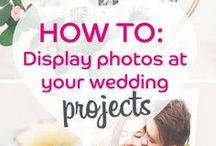 Wedding Inspirations   Printiki / A printed picture is worth a thousand words. Tell your love story at your wedding.