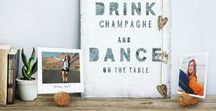 DIY Cork Photo Stand | Printiki / Let's make a DIY Cork Photo Stand from a champagne cork. It's budget-friendly and extremely easy to make! Recycling is all about creativity and I bet you never thought that a cork and its wire cage could actually be re-purposed - but they can!