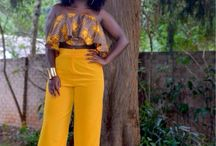 Mode africaine / L'art de l'élégance et du raffinement